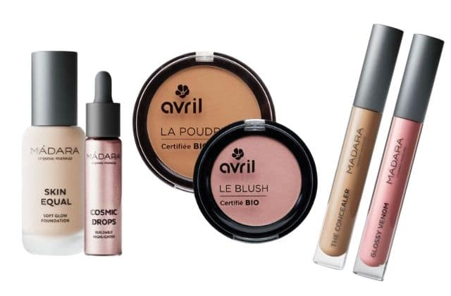 12 indispensables bio pour ta routine make-up !