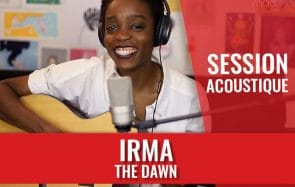 Irma vient te jouer The Dawn à la guitare en session acoustique