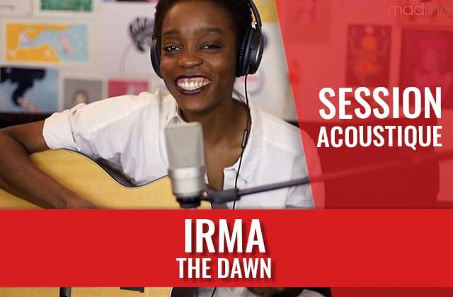 Irma vient te jouer The Dawn à la guitare en session acoustique