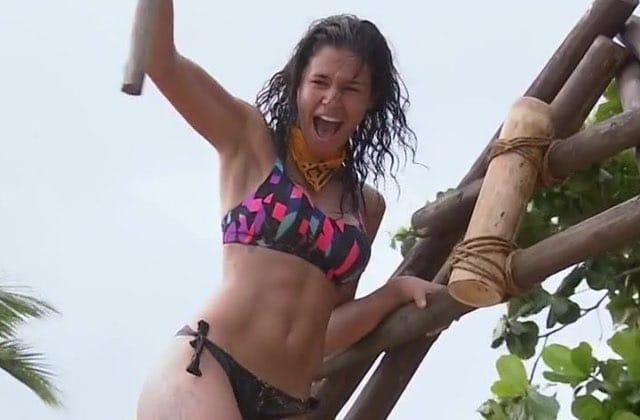 Inès de Koh-Lanta reprend les gens obsédés par ses fesses