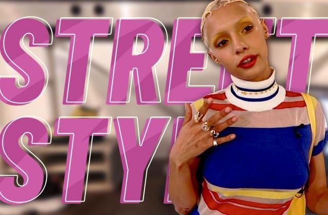 Jazzelle (Ugly World Wide) de passage en France pour un Street Style!