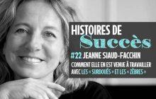 Écoute le parcours de Jeanne Siaud-Facchin, la psy des «zèbres»
