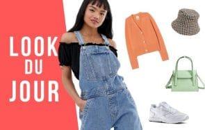 Look du jour : comment porter la salopette en jean ?