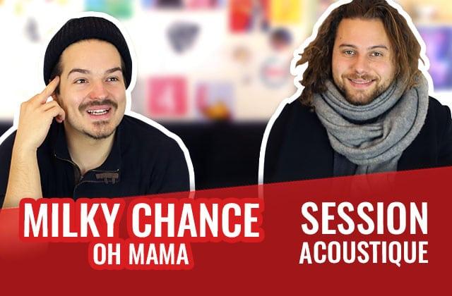 Milky Chance te joue Oh Mama en guitare-voix