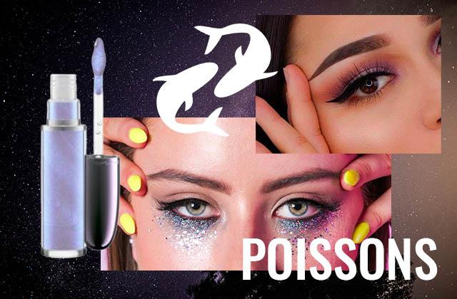 Adopte le maquillage de ton signe astro : les Poissons !