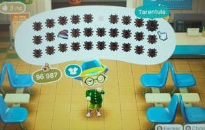 Comment attraper les tarentules d'Animal Crossing (ces petites bâtardes)