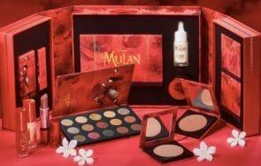 Mulan a droit à sa collection de maquillage, et les produits sont canon !