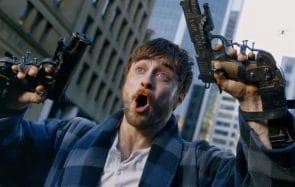 J'ai maté pour toi Guns Akimbo(avecDaniel Radcliffe qui pète un plomb)