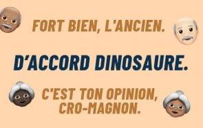 « Ok boomer» en français, ça donne quoi?