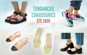 Les chaussures tendance de l'été 2020