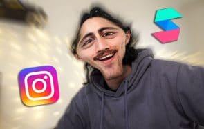 J'apprends à créer des filtres Instagram (EN ROUE LIBRE ép.9)