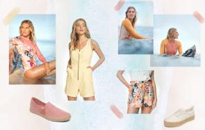 Get The Look : les secrets pour un bon look de surfeuse en 5 tenues