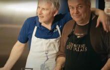 Perceval et Kadoc réunis dans une vidéo de cuisine, mon coup de cœur du mois