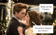 Es-tu vraiment incollable sur Twilight : Fascination (chapitre 1) ?
