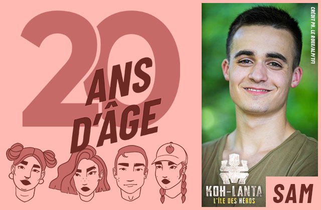 Sam de Koh-Lanta se livre en interview!