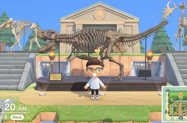 L'évènement spécial musée d'Animal Crossing, c'est aujourd'hui!
