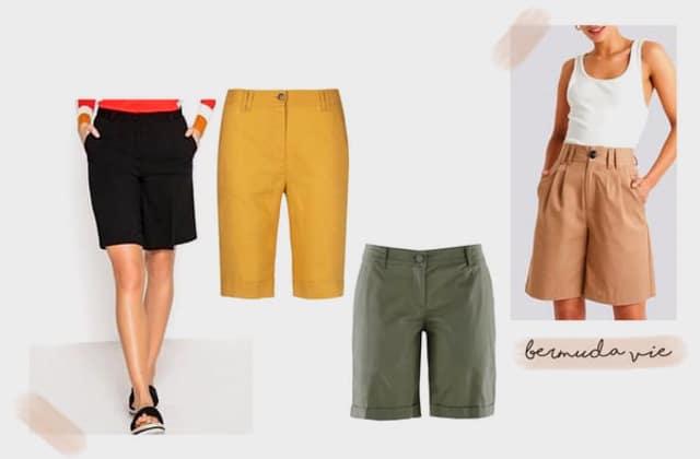 Tendance de l'été 2020 : le bermuda pour femme est à la mode