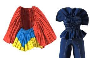 Une créatrice de mode devient virale avec son défilé 3D sans mannequins