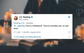 Les maisons hybrides Harry Potter existent, d'après J.K Rowling elle-même