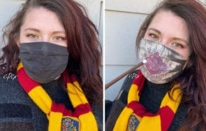 Ces masques Harry Potter cachent un secret