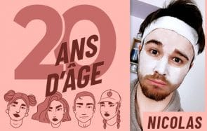 À 20 ans, Nicolas parle de sexe sur YouTube