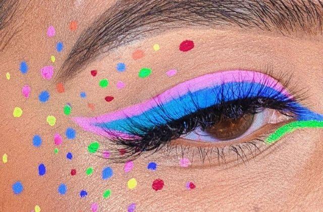 eye-liner coloré