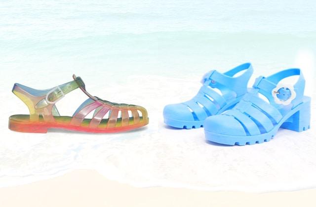 Les Méduses sont les sandales tendance de l'été