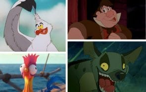test personnage con disney