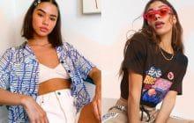 21 pièces mode inspirées des années 1990, la décennie la plus stylée du moment