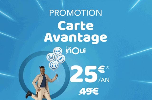 La SNCF divise par deux les tarifs de ses cartes de réduction