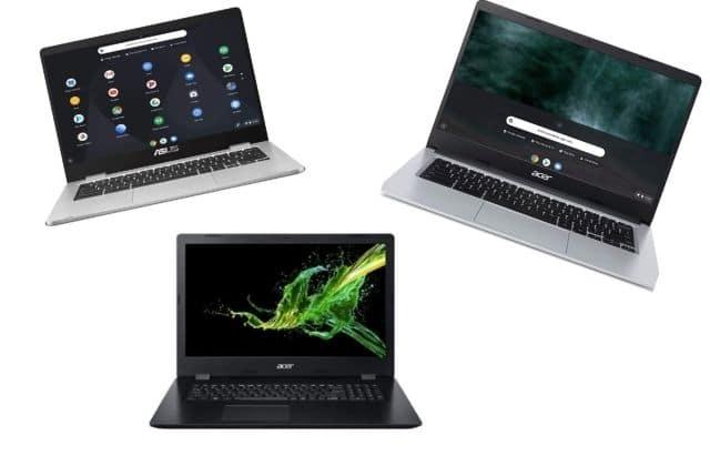 3 ordinateurs portables à moins de 500€ pour la rentrée
