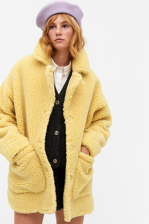 Manteau veste damier jaune zara | Forums madmoiZelle