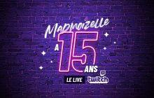 Venez fêter les 15 ans de madmoiZelle avec nous en live sur Twitch le 24 octobre!
