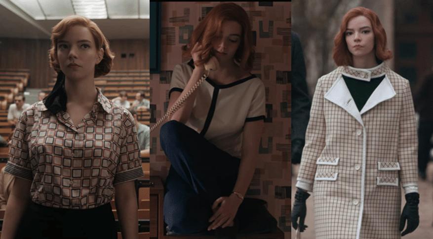 Le jeu de la dame : toutes les tenues de Beth référencent les échecs