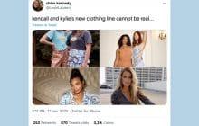 Kendall et Kylie Jenner lancent une nouvelle collection qui laisse… perplexe