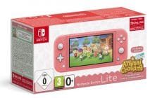 Le pack Nintendo Switch Lite + Animal Crossing est là, à moins de 250€!
